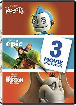 LOT OF 2 - Robots, Epic, Horton Hears a Who Triple Feature (DVD)