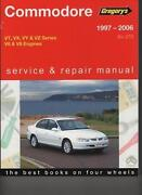 VT Commodore Manual