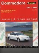 VT Commodore Manual