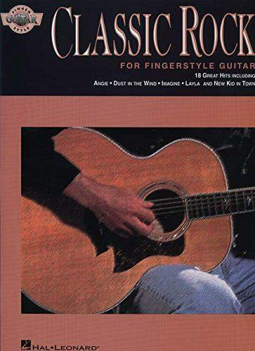 Classic Rock For Fingerstyle Guitar Book by VARIOUS | Paperback Book | 978079357
