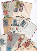 Airmail Envelopes Lot