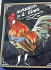 Chicken Rooster Fabric