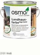Osmo Landhausfarbe Weiß