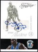 Anthony Mason Autograph