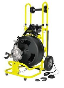 cobra sewer machine