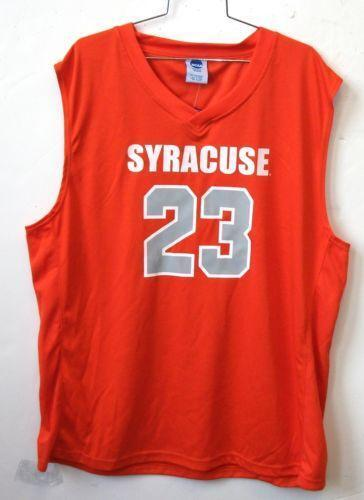Syracuse Basketball Jersey College Ncaa Ebay
