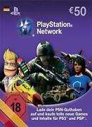 PSN Network Card 50