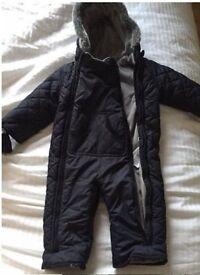 Boys Snow Suit - 12-18mths