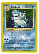 Pokemon Cards Blastoise