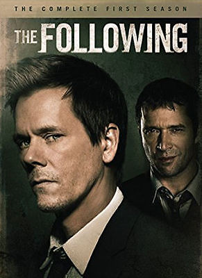 The Following  The Complete First Season  Dvd  2014  4 Disc Set    New