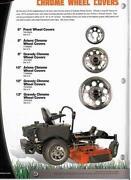 Chrome Lawn Mower Wheels