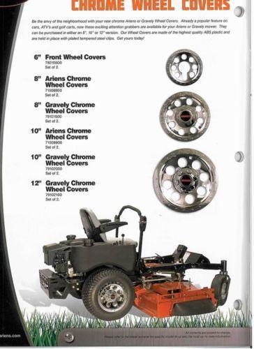 Lawn Mower Wheel Covers Chrome : Chrome lawn mower wheels ebay