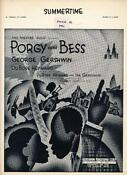Porgy and Bess Sheet Music