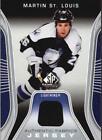 Memorabilia Martin St. Louis Hockey Trading Cards