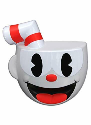 Cuphead - Vacuform Child Mask Costume Accessories - Assorted