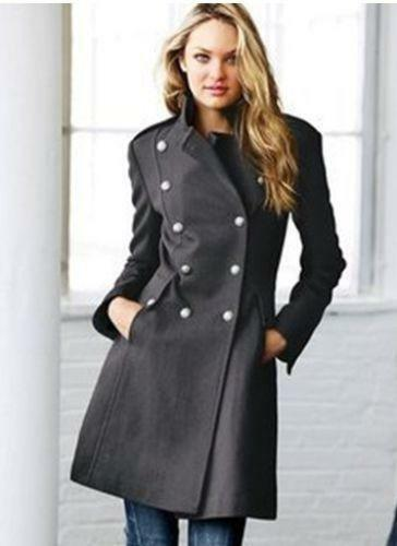 Womens Double Breasted Coat | eBay