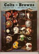 NFL Championship Program