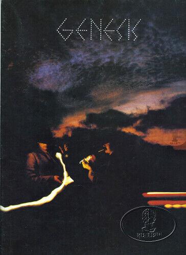GENESIS 1978 WORLD TOUR Concert Program/Poster Tour Book PHIL COLLINS