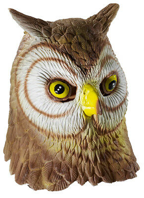 Deluxe Owl Mask Halloween Accessory (Owl Masks)