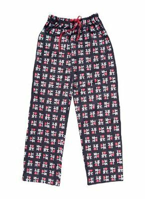 I Love NY New York Lounge Pants Heart Pajama Bottoms Black](I Love Ny Pajamas)