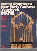 1978 Yankees Yearbook