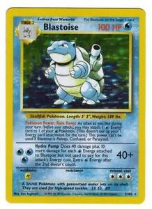 Rare Holo (shiny) base set pokemon cards All 18 Available Out of print!