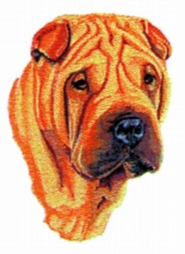 Standing Shar Pei 3D Dog Charm n Satin Finish