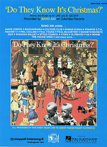 Do-They-Know-Its-Christmas-Feed-The-World-Play-Band-Aid-Piano-SHEET-Music-Book
