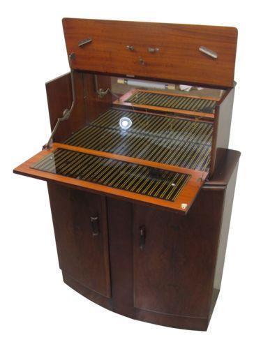 Art Deco Bar Cabinet Ebay