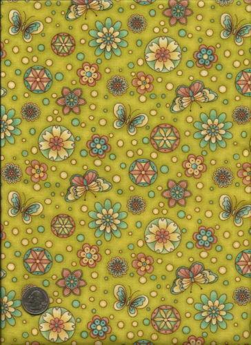 Butterfly Print Fabric Ebay