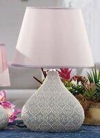 Lampada Ceramica Avella 19x10xh38cm 4colori Shabby Shic Arredo Casa -  - ebay.it