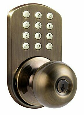 Digital Door Knob Lock with Electronic Keypad for Interior D