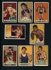 Topps Boxing Trading Cards Lot 1951 Season