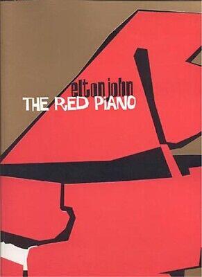 Elton John Red Piano - ELTON JOHN  - The Red Piano 2004 LAS VEGAS Tour Book