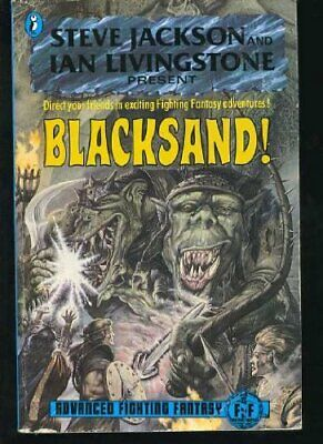 Blacksand! Advanced Fighting Fantasy (Puffin Adventure Gamebooks) By Marc Gasco