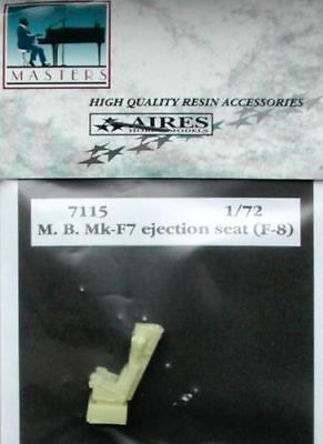 AIRES 7115 Martin Baker Mk F7 ejection seat F-8 version Scale 1/72