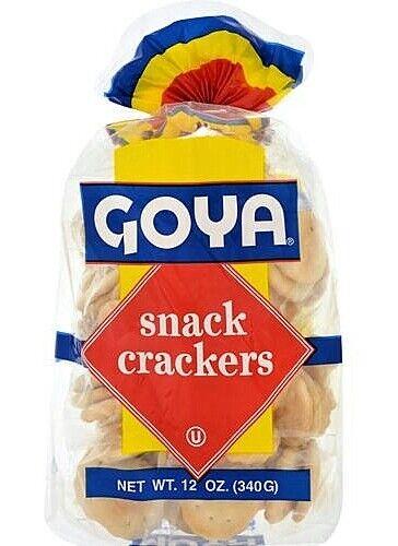 Goya Snack Crackers, Galletas estilo Cubanas 12 oz