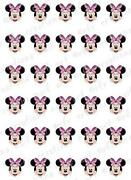 Minnie Mouse Nail Decals