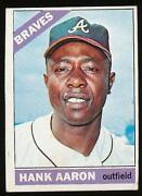 1966 Topps Hank Aaron #500