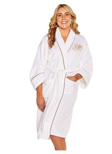 Harry Potter Women Bathrobe Golden Snitch Dressing Gown Chri