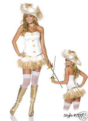 Sexy Adult Hollywood Three Musketeers Medieval Costume