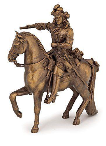 KING LOUIS XlV On His Horse 39709 ~ FREE SHIP/USA w/ $25.+ Papo Figurines