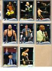 Topps Chrome Topps Lot Wrestling Trading Cards