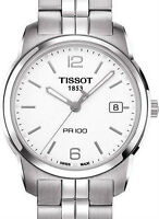 NEW TISSOT PR100 ALL STEEL T0494101101700 SWISS MADE IN STOCK
