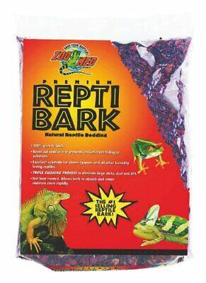 Bark Reptile Bedding (Zoo Med Premium Repti Bark Natural Reptile Bedding 10 Dry Quart )