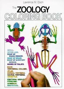 Coloring-Bks-Zoology-by-Lawrence-M-Elson-1982-Paperback