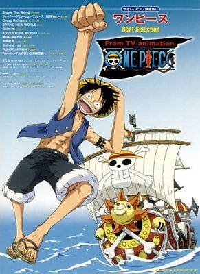 One Piece Piano Best Selection Easy Hikigatari from TV Animation Japan