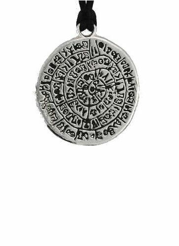 Gnostic Amulet / Talisman Pewter Pendant (Wicca Pagan Ritual Magick Protection)