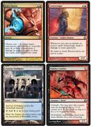 MTG Common Uncommon X4