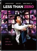 Less Than Zero DVD